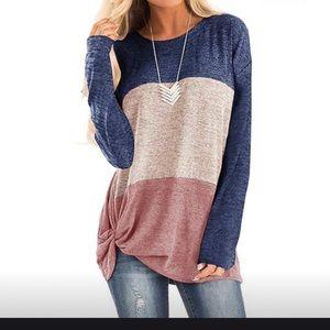 Oversized knot sweater